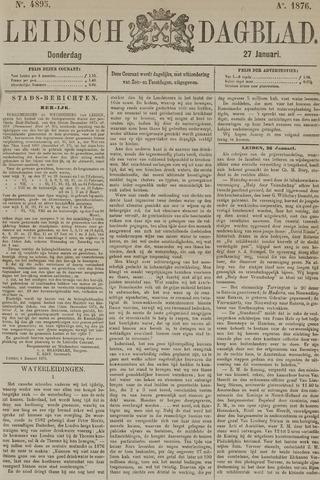 Leidsch Dagblad 1876-01-27