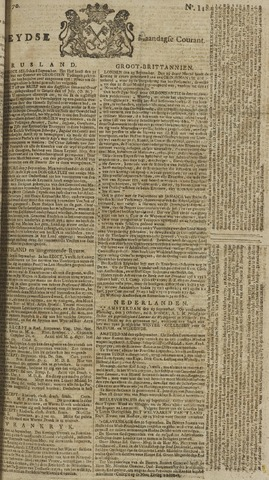 Leydse Courant 1770-10-01