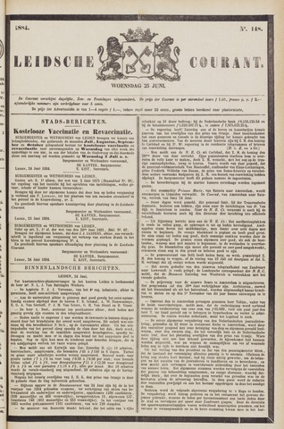 Leydse Courant 1884-06-25