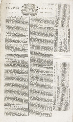 Leydse Courant 1818-09-04