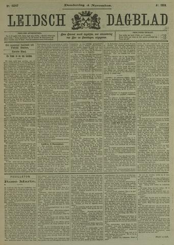Leidsch Dagblad 1909-11-04