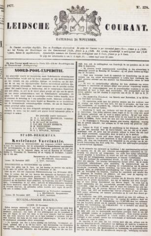 Leydse Courant 1877-11-24