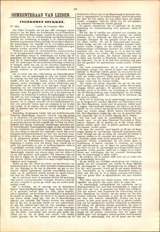 Handelingen van de Raad 1909-11-24