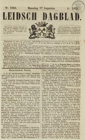 Leidsch Dagblad 1863-08-17