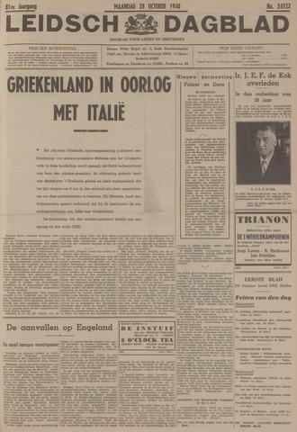 Leidsch Dagblad 1940-10-28