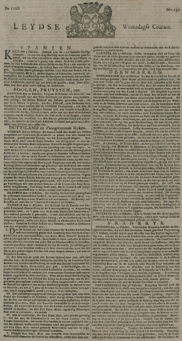 Leydse Courant 1728-11-03