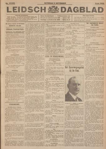 Leidsch Dagblad 1926-09-11