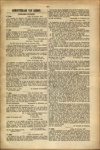 Handelingen van de Raad 1881-11-24