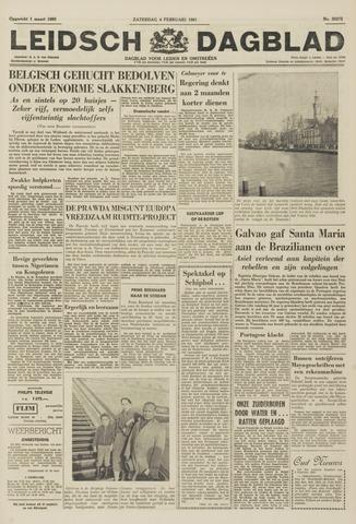 Leidsch Dagblad 1961-02-04