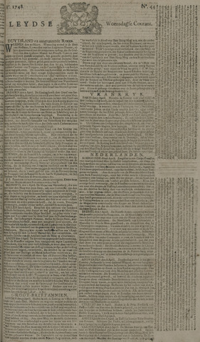 Leydse Courant 1748-04-10