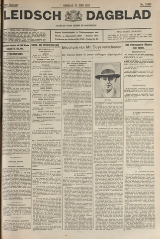 Leidsch Dagblad 1933-06-13