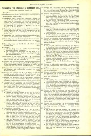 Handelingen van de Raad 1934-12-17