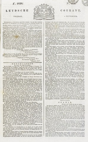 Leydse Courant 1838-11-02