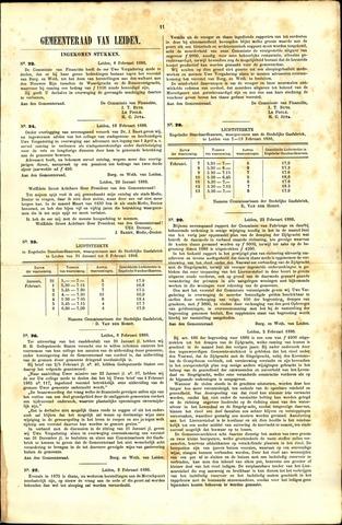 Handelingen van de Raad 1886-02-08