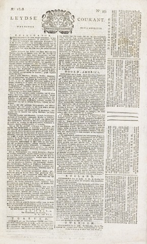 Leydse Courant 1818-08-05