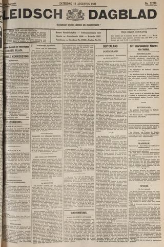 Leidsch Dagblad 1932-08-13
