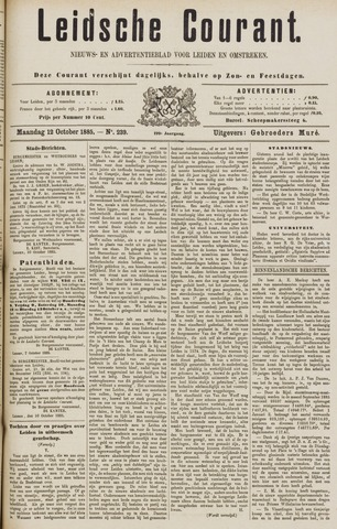 Leydse Courant 1885-10-12