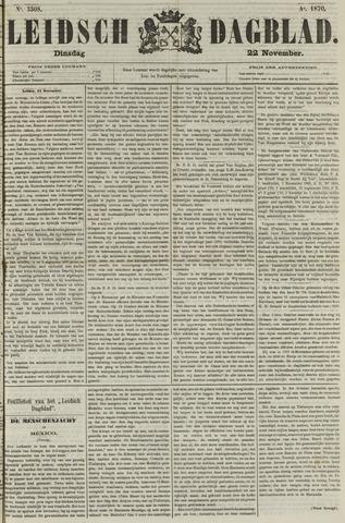 Leidsch Dagblad 1870-11-22