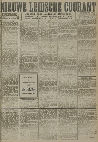 Nieuwe Leidsche Courant 1921-09-02