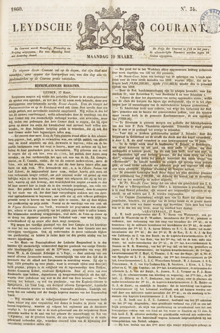 Leydse Courant 1860-03-19