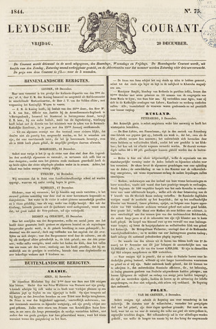 Leydse Courant 1844-12-20