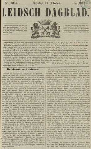 Leidsch Dagblad 1866-10-23