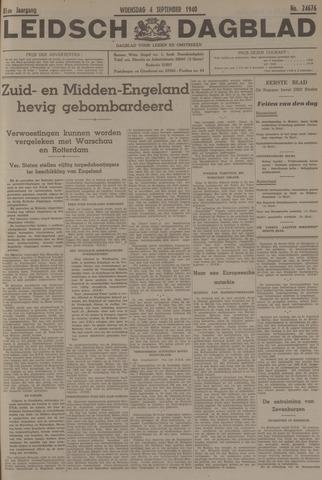 Leidsch Dagblad 1940-09-04