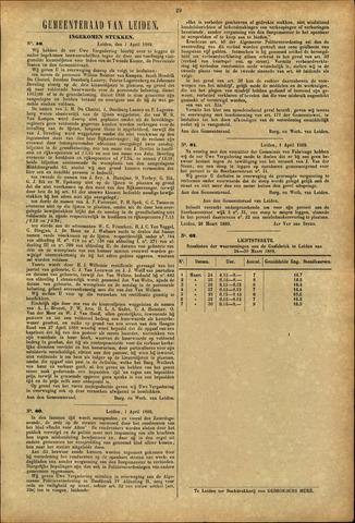 Handelingen van de Raad 1889-04-01