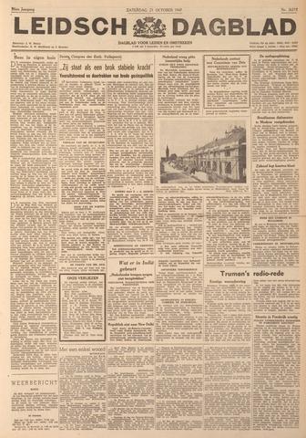 Leidsch Dagblad 1947-10-25