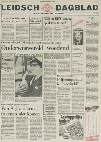 Leidsch Dagblad 1982-10-27