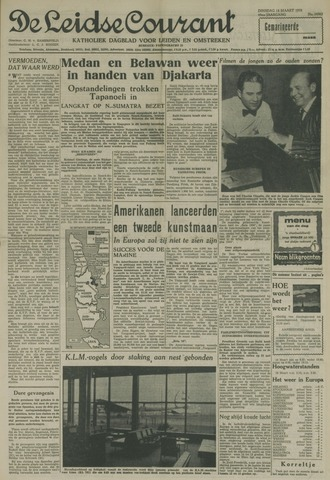 Leidse Courant 1958-03-18
