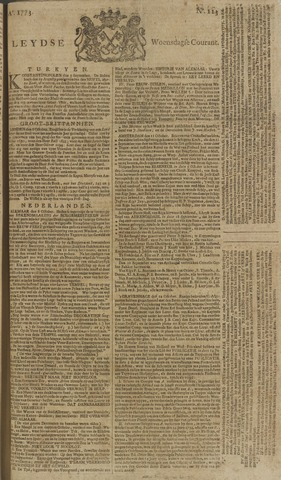 Leydse Courant 1773-10-13