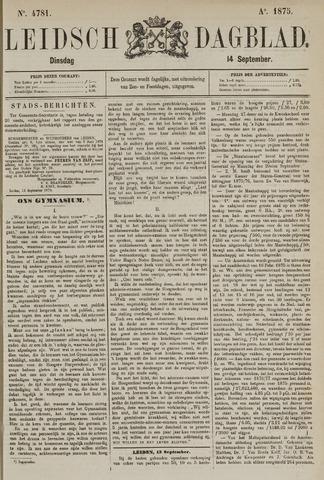 Leidsch Dagblad 1875-09-14