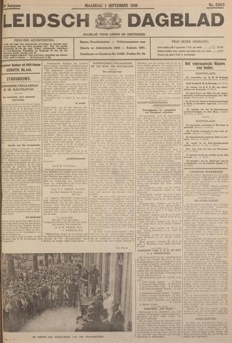 Leidsch Dagblad 1930-09-01