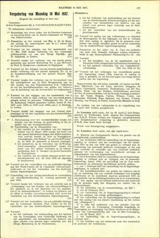 Handelingen van de Raad 1937-05-10