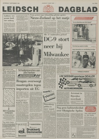 Leidsch Dagblad 1985-09-07