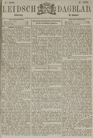 Leidsch Dagblad 1878-01-19
