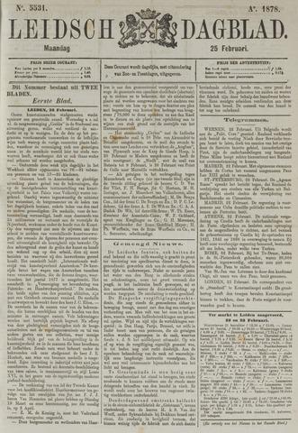 Leidsch Dagblad 1878-02-25