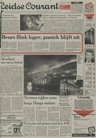 Leidse Courant 1989-10-16