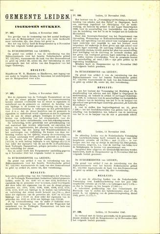 Handelingen van de Raad 1943-11-04