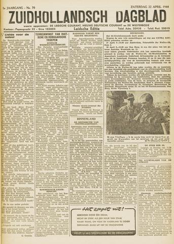 Zuidhollandsch Dagblad 1944-04-22