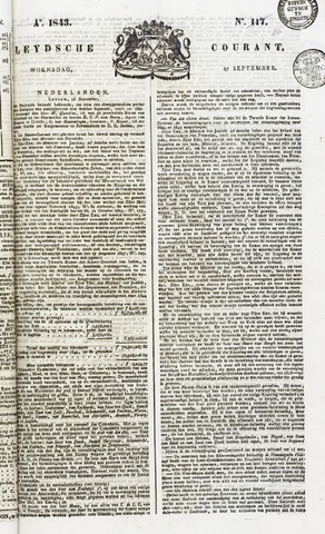 Leydse Courant 1843-09-27