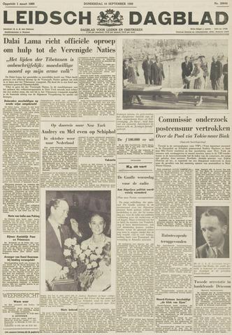 Leidsch Dagblad 1959-09-10
