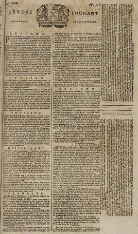Leydse Courant 1808-09-26
