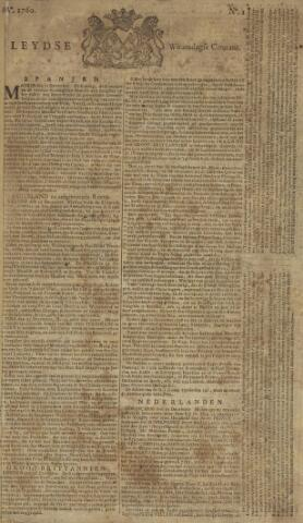 Leydse Courant 1760-01-02