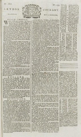 Leydse Courant 1817-12-22