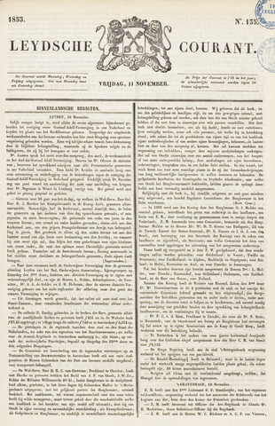 Leydse Courant 1853-11-11