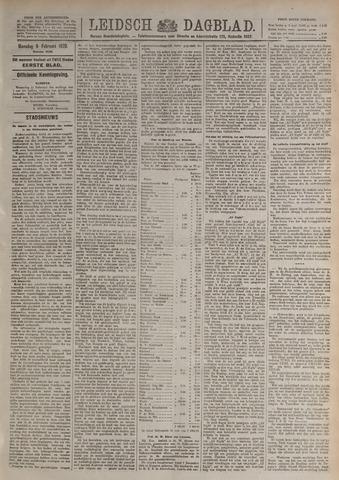 Leidsch Dagblad 1920-02-09