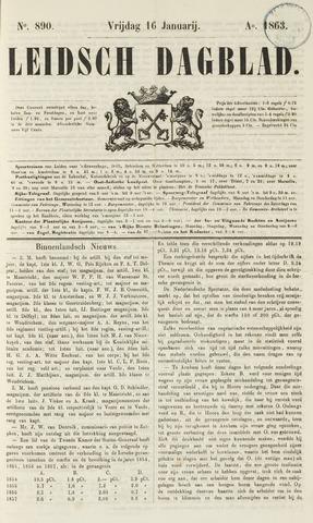 Leidsch Dagblad 1863-01-16
