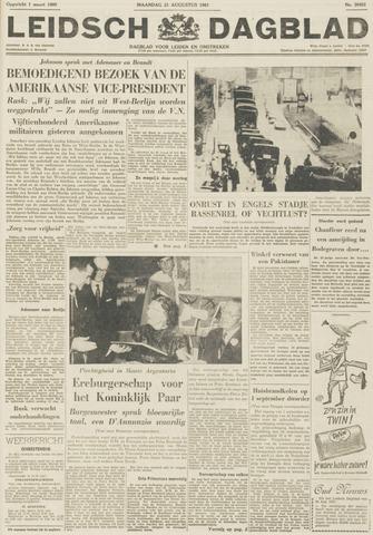 Leidsch Dagblad 1961-08-21